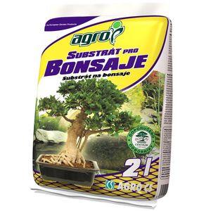 Substrát pre bonsaje 2 l AGRO